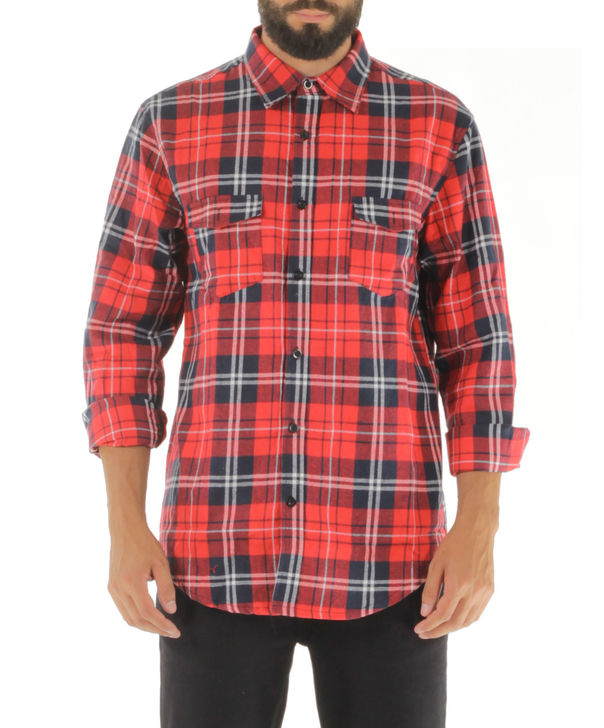 CAMICIA KANYE77 A/W 15, RED, large