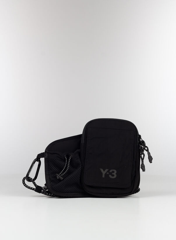 BORSA Y-3 BUMBAG, BLACK, large