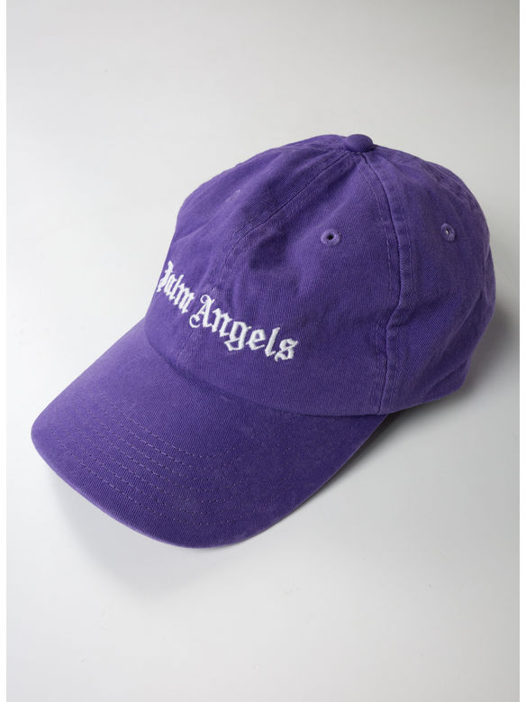 CAPPELLO CLASSIC LOGO, PLUM/WHITE, medium