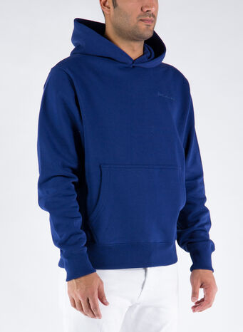 FELPA HOODIE PHARRELL WILLIAMS BASICS, NIGHTSKY, small