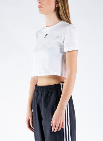 CROP TOP, WHITE, small