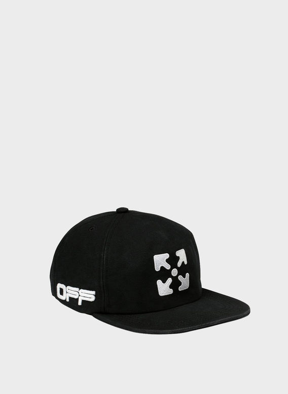 CAPPELLO ARROW FIVE PANEL, BLACK/WHITE, medium
