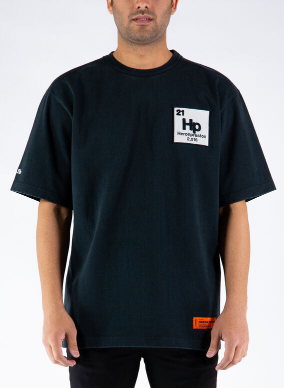 T-SHIRT ES OS HERONS HALO, 1049BLACKBLUE, medium