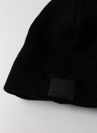CAPPELLO SOUNDAY BEANIE UNISEX, BLACK, small
