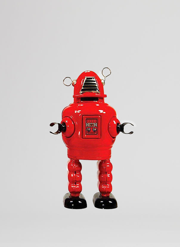 X ROBOT TINY TOY I17, PLANET ROBOT, large