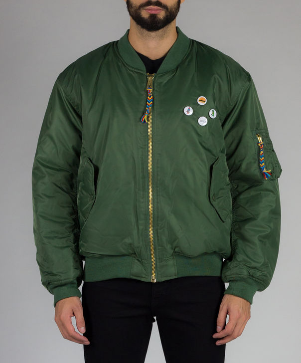 GIUBBOTTO A/W 16, MILITARYGREEN, large