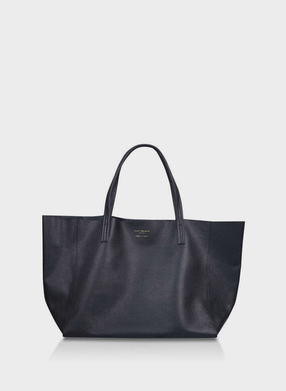 BORSA VIOLET HORIZONTAL TOTE, 00BLACK, medium