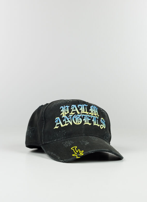 CAPPELLO HUGE LOGO, 1084BLACKMULTI, medium