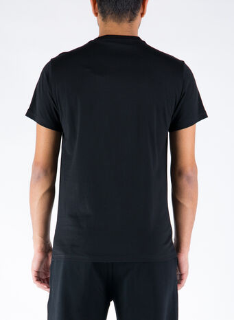 T-SHIRT PARKER, BLACK, small
