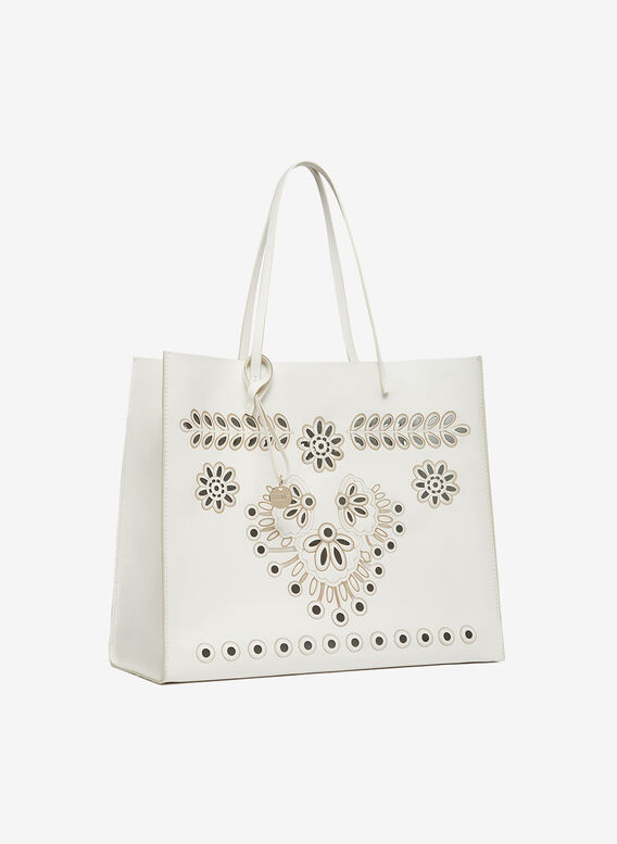 BORSA TOTE, 031LATTE, medium