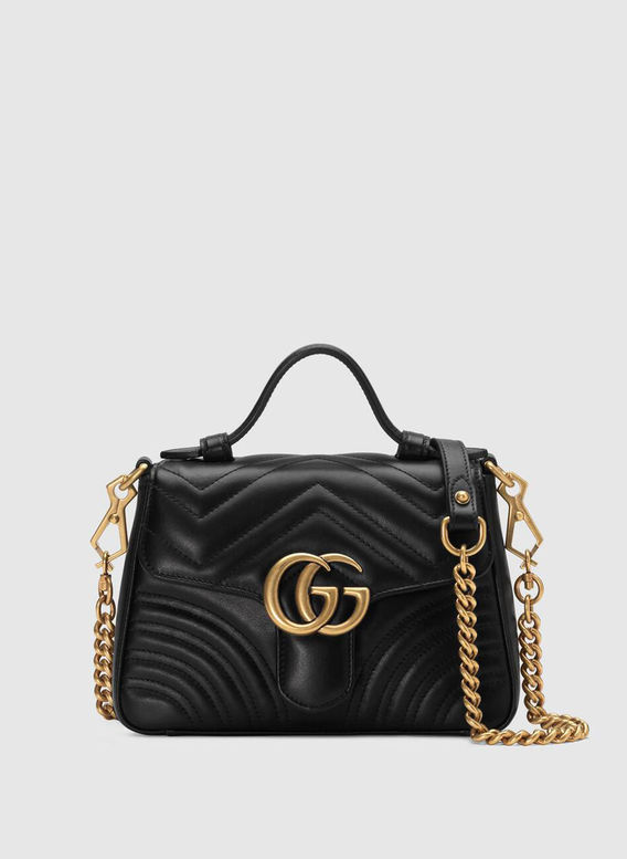 MINI BORSA A MANO GG MARMONT, 1000, medium