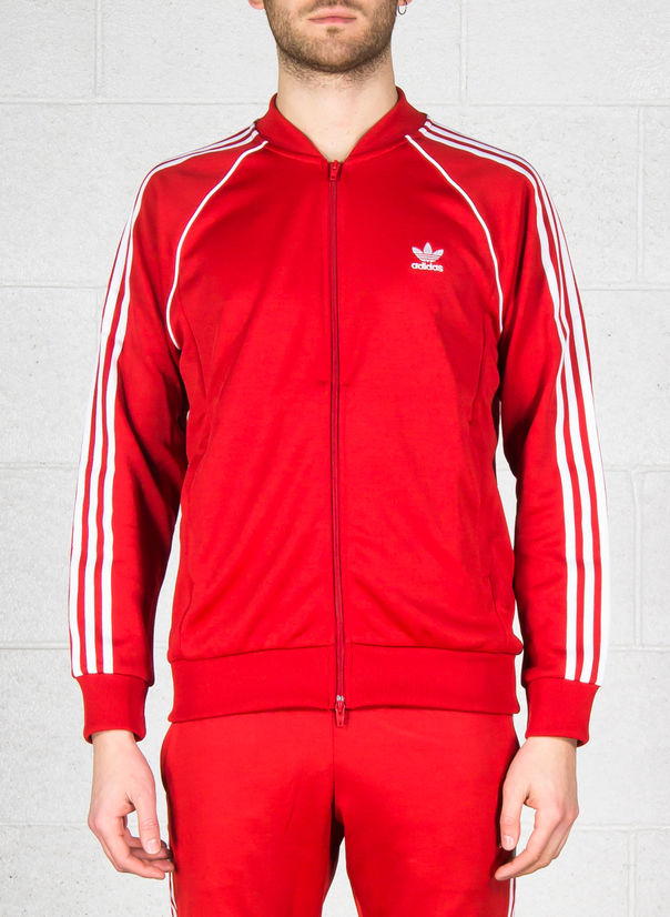 FELPA TRACK JACKET SST, RED, large