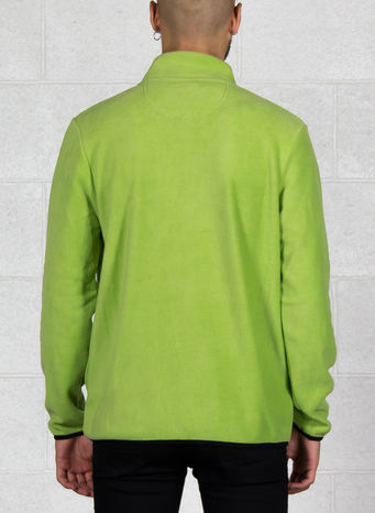 FELPA POLAR FLEECE HALF ZIP, LIME, small