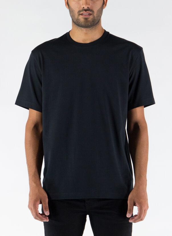 T-SHIRT BACK LOGO, BLACK, large