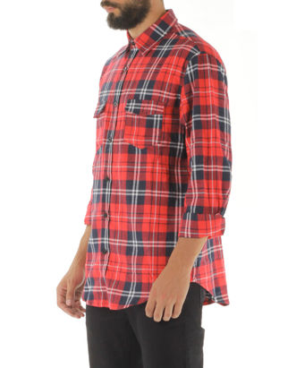 CAMICIA KANYE77 A/W 15, RED, small