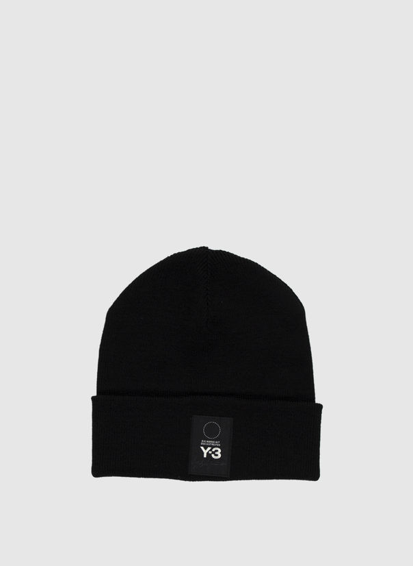 CAPPELLO LOGO BEANIE, BLACK, large