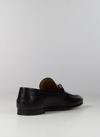 MOCASSINO JORDAAN IN PELLE, 1000NERO, small
