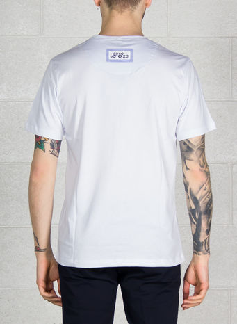 T-SHIRT T-101, WHITE, small