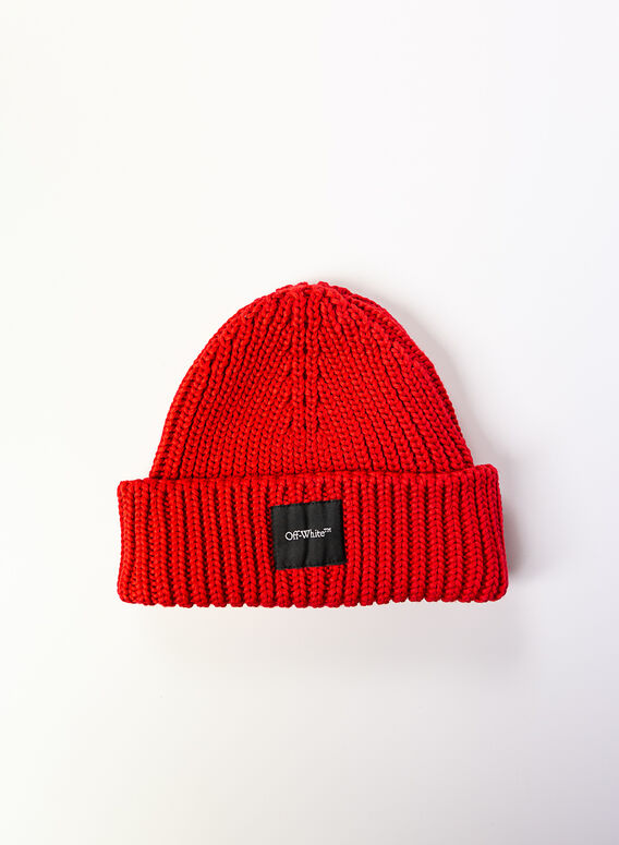 CAPPELLO BEANIE, RED, medium