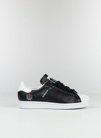 SCARPA SUPERSTAR, BLACKGREEN, small