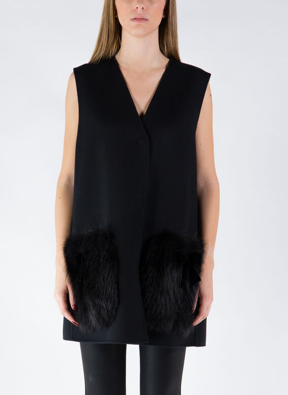 GILET, F0ZNJBLACK, medium