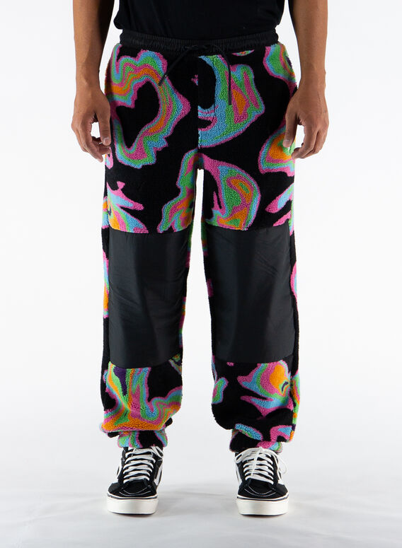 PANTALONE PSYCH JOGGERS, BLACK/MULTI, medium