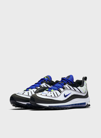 SCARPA AIR MAX 98, WHITE/BLACK/BLUEVOLT, small