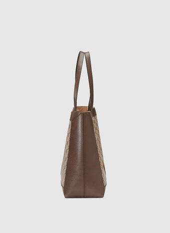 BORSA SHOPPING OPHIDIA IN GG SUPREME, 8745, small