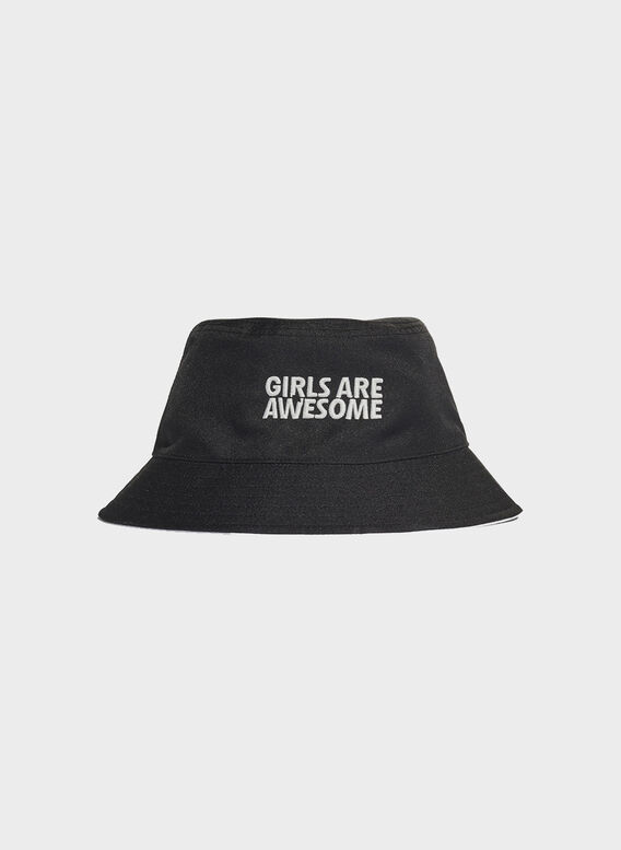 CAPPELLO BUCKET REVERSE, BLACKWHITE, medium