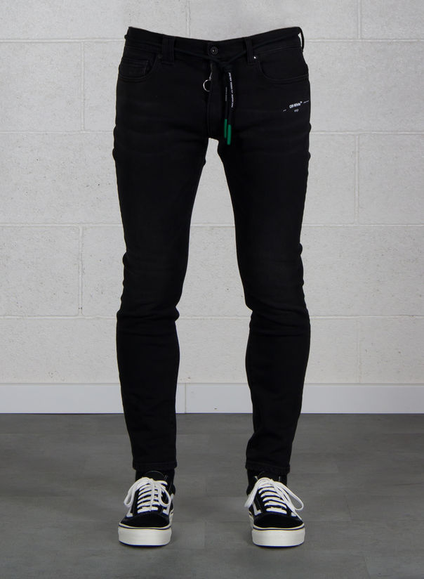 JEANS SKINNY REGULAR LENGHT, BLACK, large