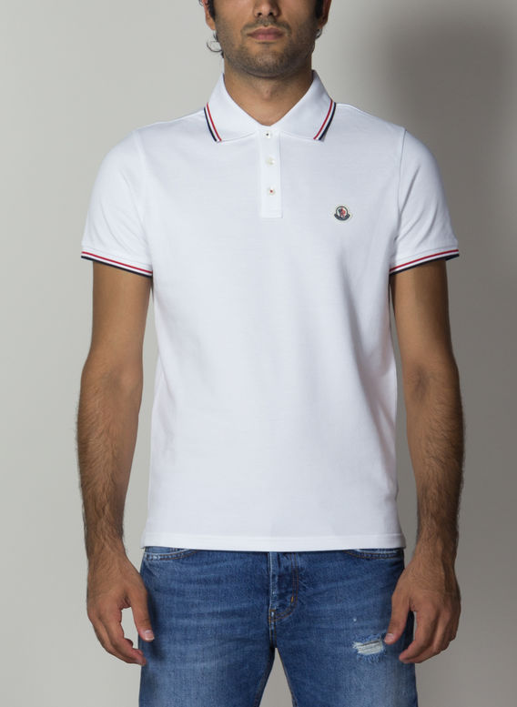 POLO, 001WHITE, medium