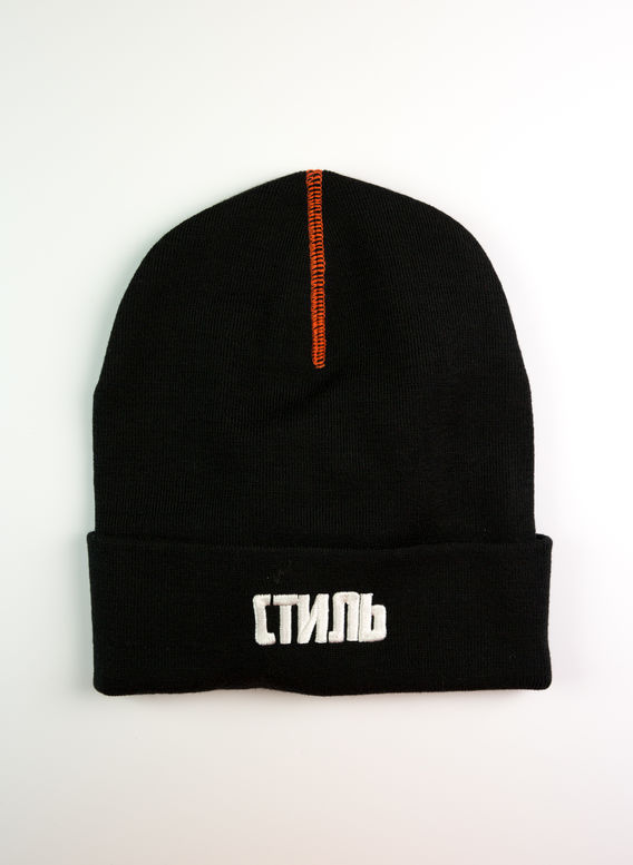 CAPPELLO CTNMB BEANIE, BLACK/WHITE, medium