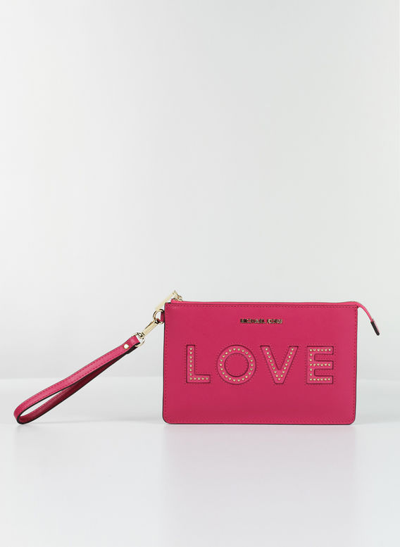 POCHETTE LOVE, 564ULTRAPINK, medium