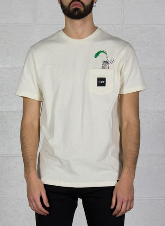 T-SHIRT POPEYE POCKET, CREAM, small