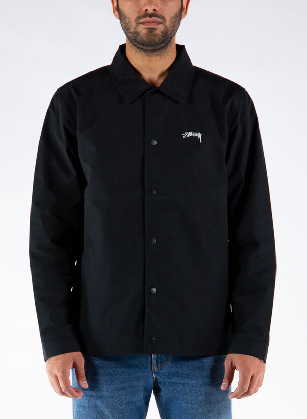GIUBBOTTO CLASSIC COACH JACKET, BLACK, large