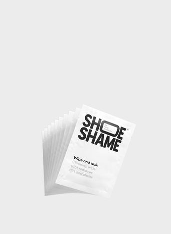 SHOESHAME WIPE AND WALK, WHITE, small
