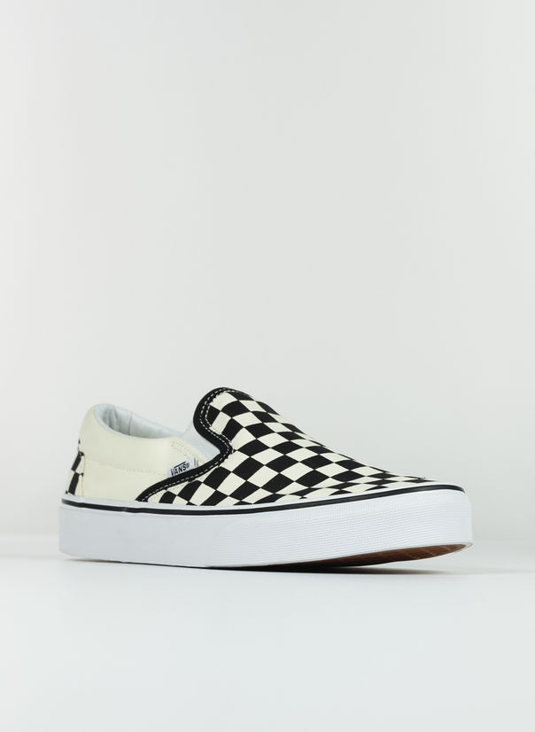 SCARPA CLASSIC SLIP-ON CHECKERBOARD, CHECK, large