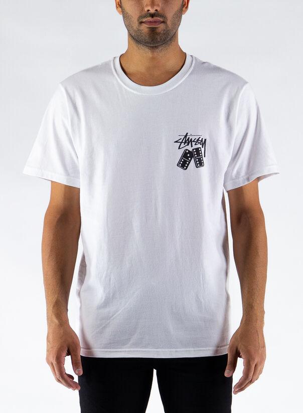 T-SHIRT DOMINOES, WHITE, large
