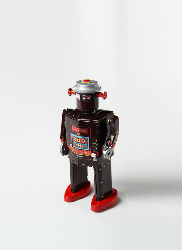X ROBOT TINY TOY I17, M-65 ROBOT , large