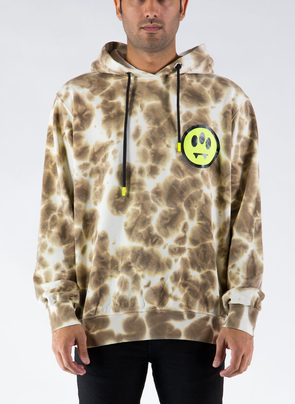 FELPA HOODY FADED, 094MUD, large