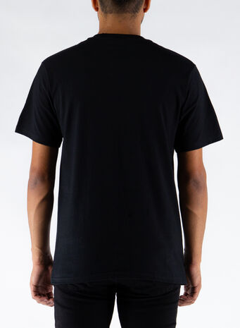 T-SHIRT LEVITATE, BLACK, small