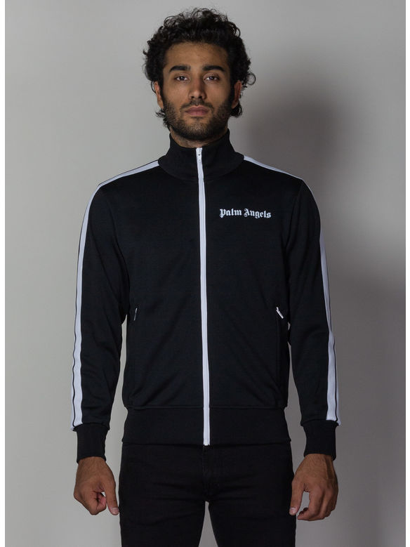 FELPA CLASSIC TRACK JACKET, BLACK/WHITE, medium