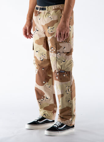 PANTALONE CAMO TAPED SEAM CARGO, CAMO, small