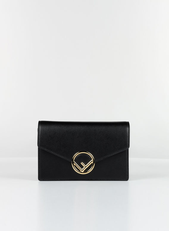 BORSA CHAIN WALLET, F0KURBLACK, medium