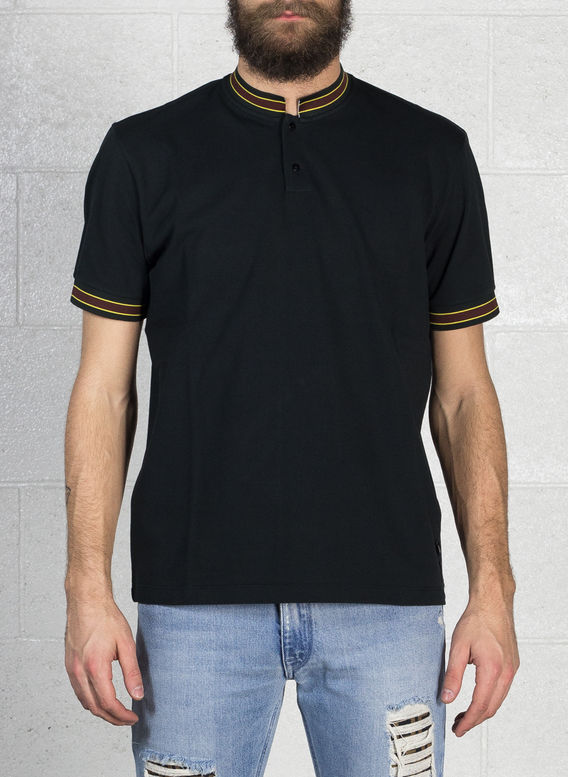 POLO LOGO NECK, F0QA1BLACK, medium