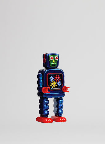 X ROBOT TINY TOY I17, GEARING ROBOT, small