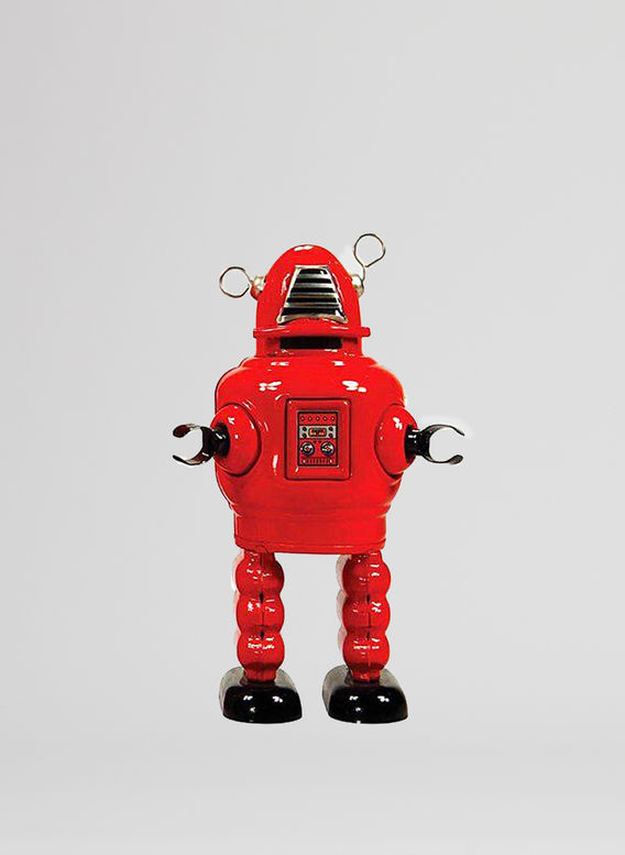 X ROBOT TINY TOY I17, PLANET ROBOT, medium