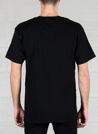 T-SHIRT OG LOGO RIPPED, BLACK, small