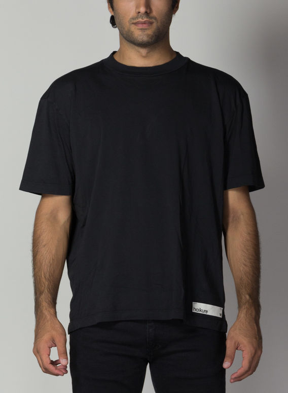 T-SHIRT CLIVE, BLACK, medium