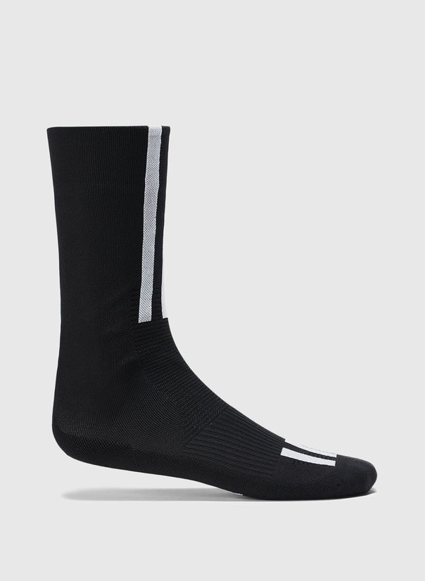 CALZINI Y-3 TECH SOCKS, BLACK/WHITE, large